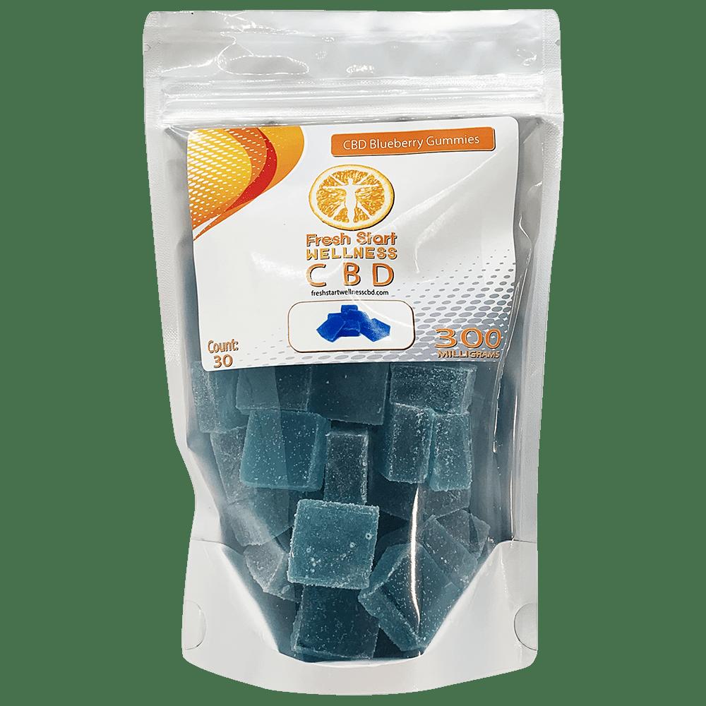 CBD blueberry gummies